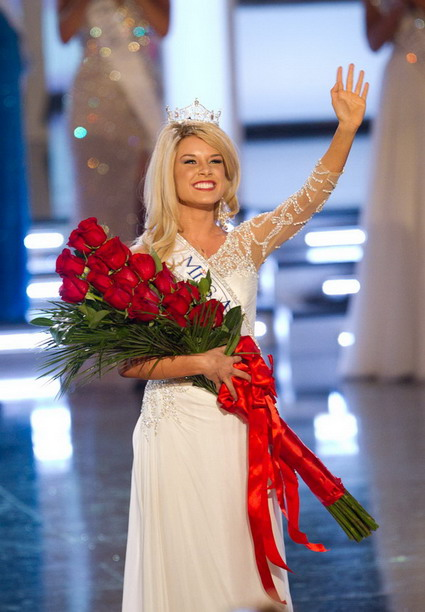 The New Miss America - Teresa 2011