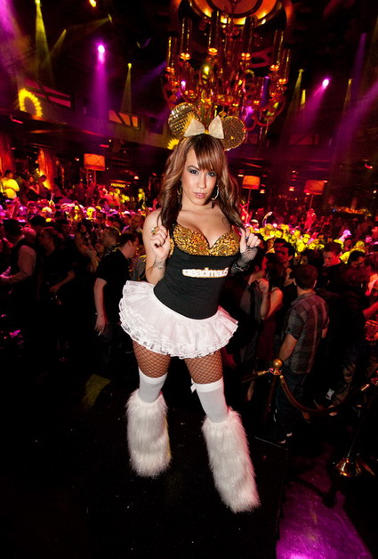 Deadmau5 Photos at XS Nightclub